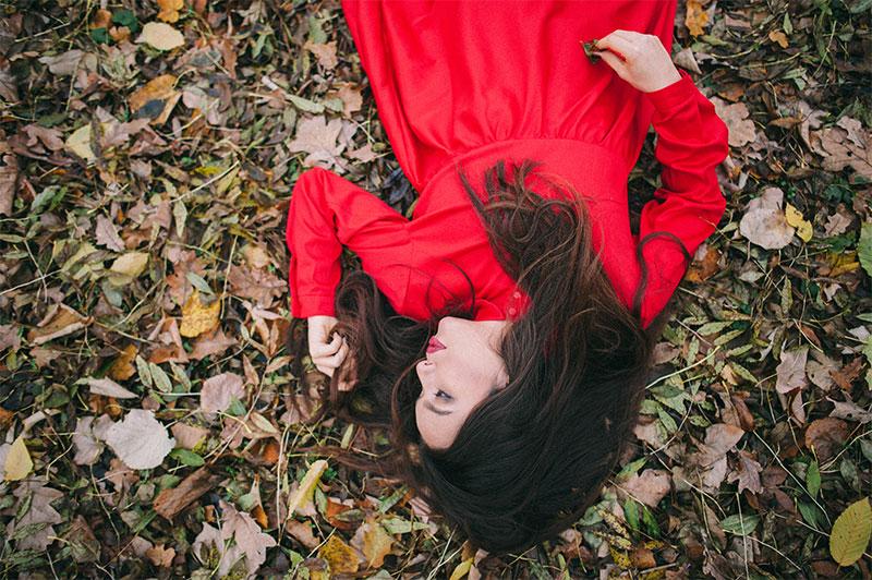 ioana petre red dress