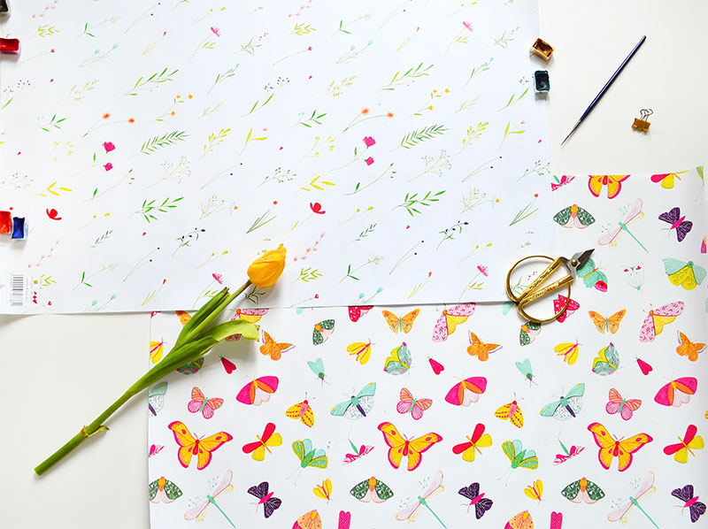 ioana petre wrapping paper carturesti