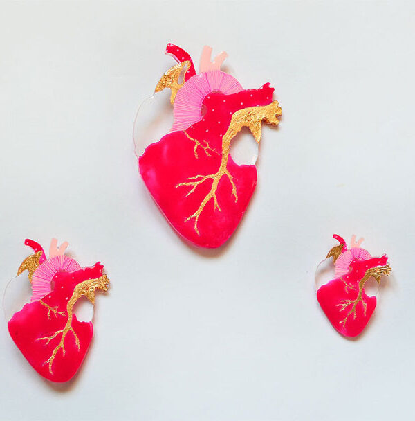 ioana petre all in heart brooch