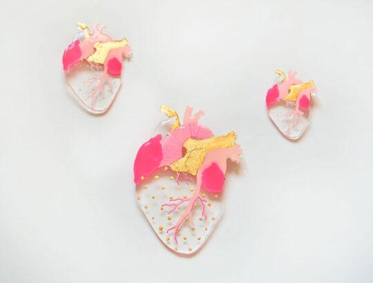 ioana petre gentle heart brooch