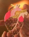ioana petre gentle heart brooch detail
