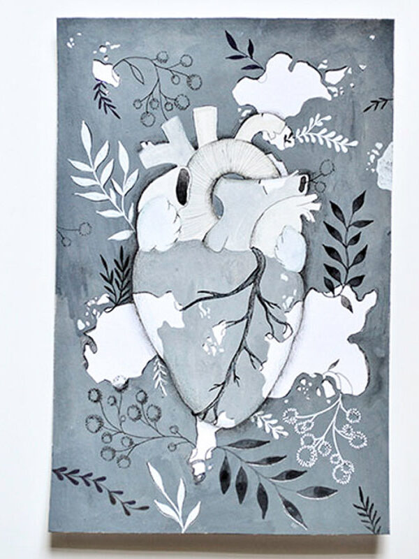 ioana petre vitiligo heart original