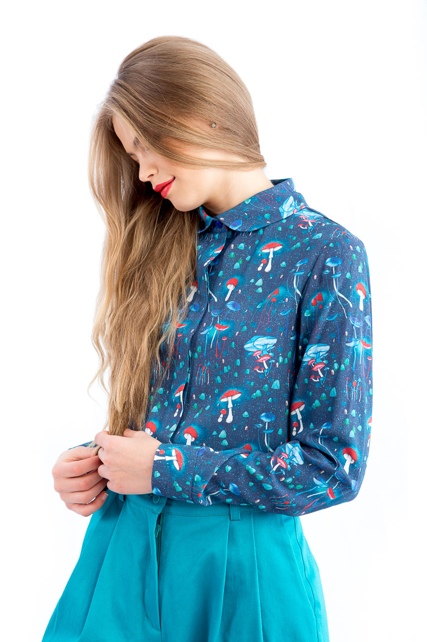ioana petre mushrooms blouse