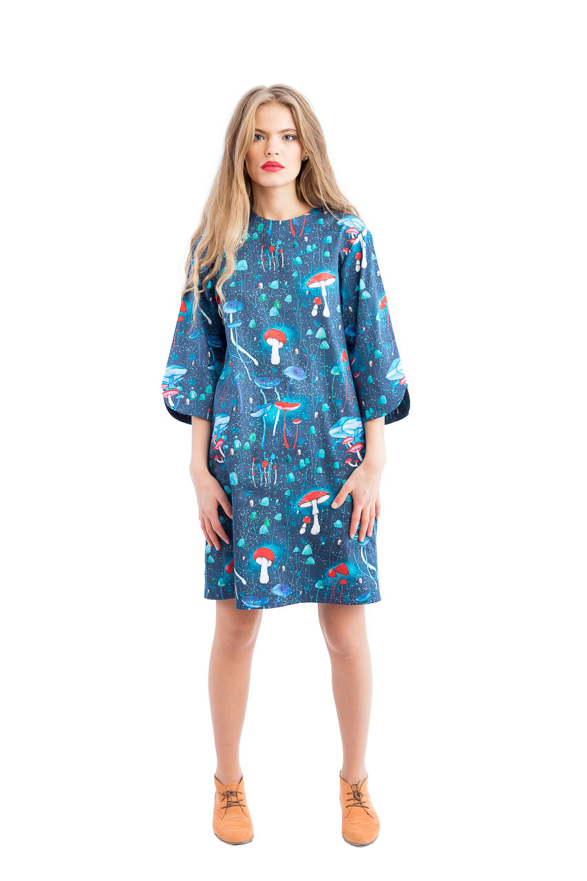 ioana petre mushrooms dress