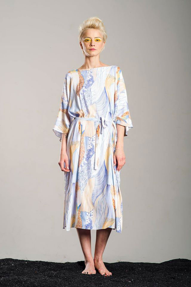 ioana petre jellyfish pattern dress