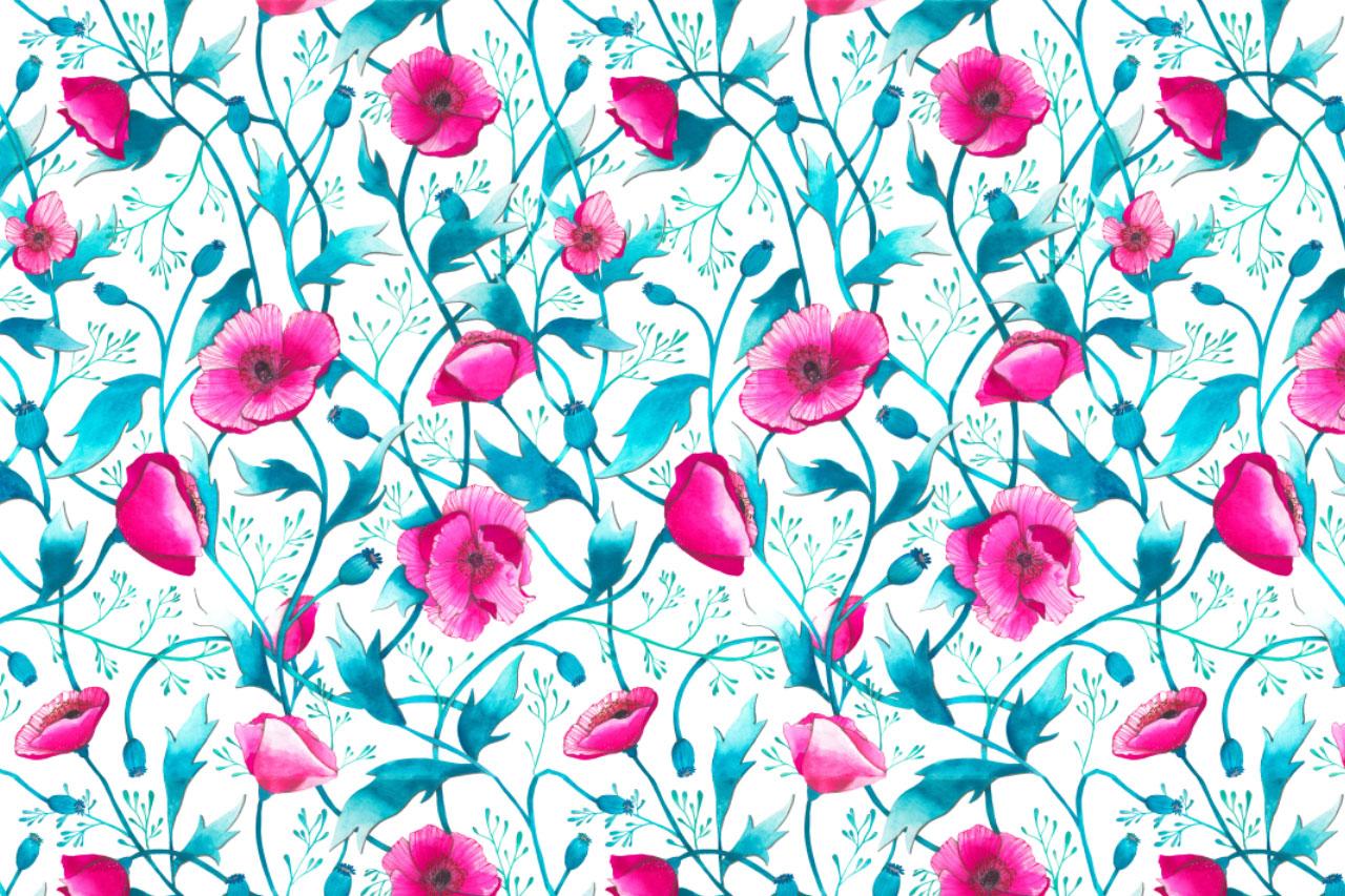 ioana petre poppies pattern