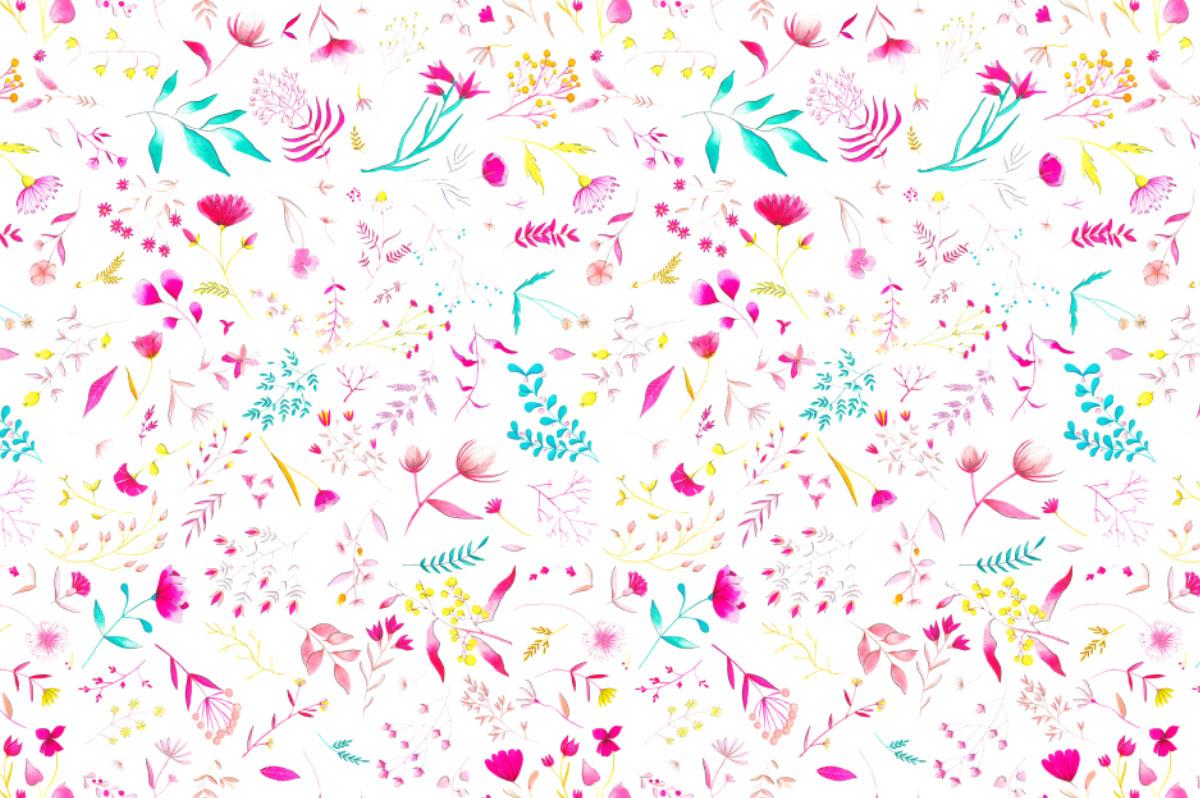 ioana petre delicate flowers pattern
