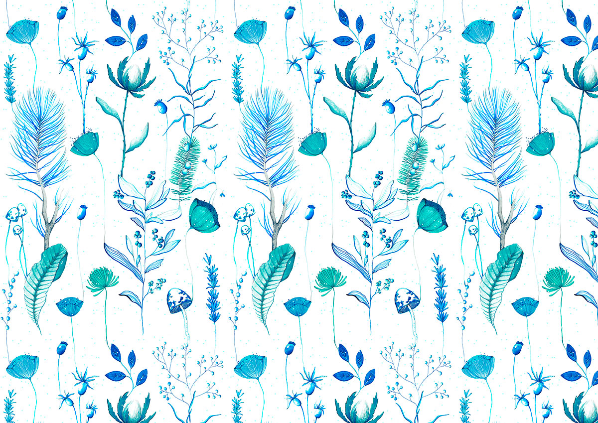 ioana petre ice flowers pattern