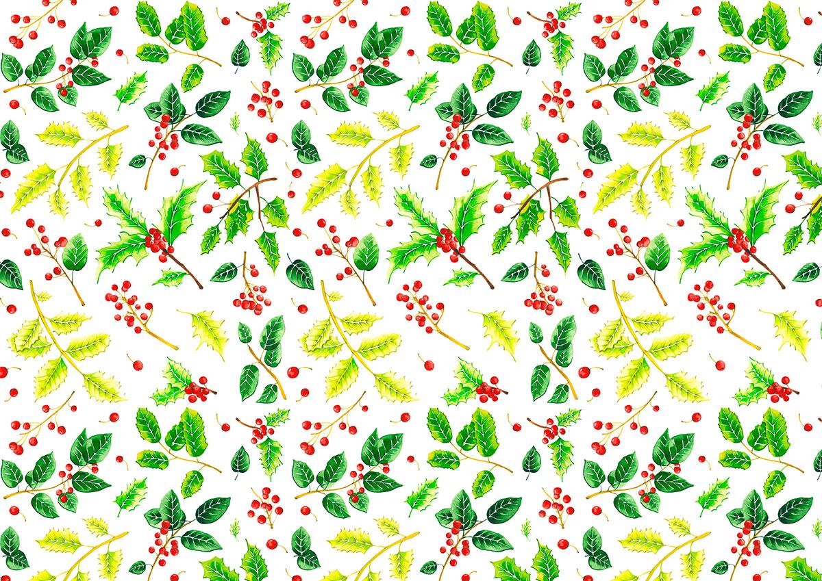 ioana petre mistletoe pattern