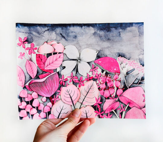 ioana petre pink forest